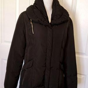 Cole Haan Black Down Coat L